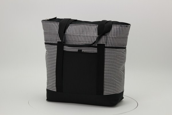 Jumbo Cooler - Houndstooth 360 View