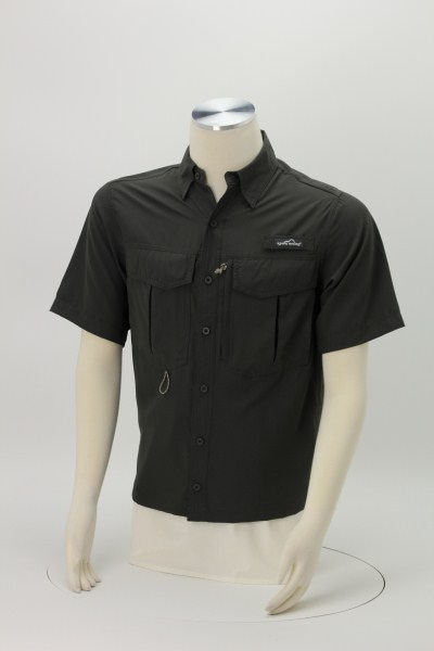 Eddie Bauer SS Moisture Wicking Fishing Shirt 360 View