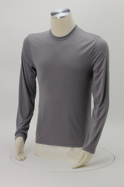 1b74375a8725 4imprint.com: Hanes 4 oz. Cool Dri Long Sleeve T-Shirt 111580-LS