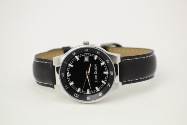 Prague Leather Watch - Men's 360 View