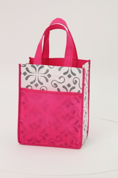 Patterned Mini Tote 360 View