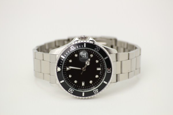 Master Stainless Steel Watch - Men's 360 View