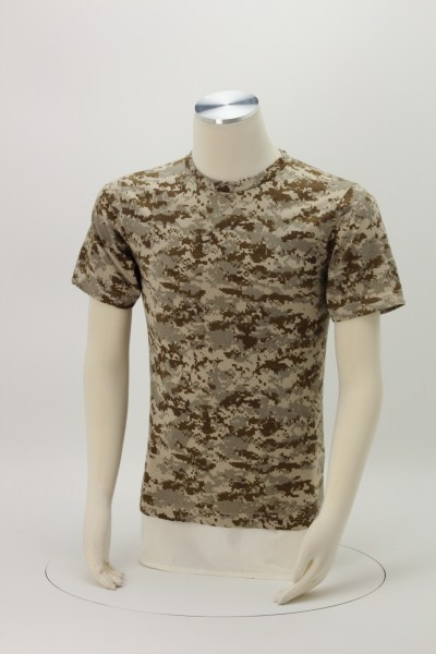 Code V Camouflage T-Shirt - Men's 360 View