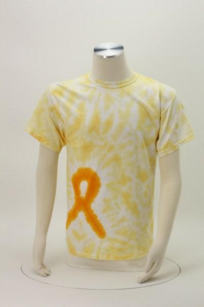 Tie-Dyed Awareness Ribbon T-Shirt 360 View