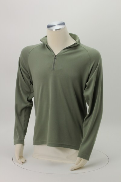 Milestone 1/4-Zip Performance Pullover - Men's - Embroidered 360 View