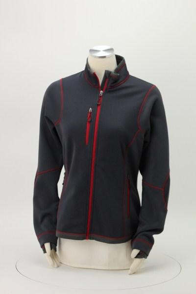 Pulse Textured Bonded Fleece Jacket - Ladies' 360 View