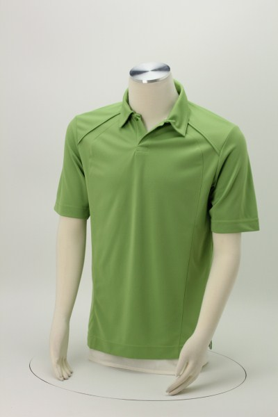 Recycled Polyester Performance Pique Polo - Men's 360 View