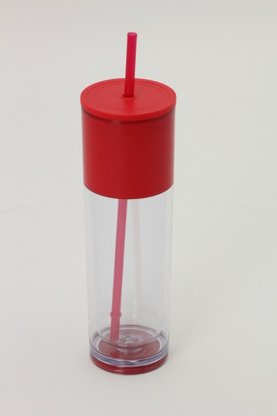 Ice Cool Tumbler with Straw 360 View