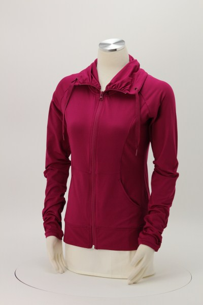 Sport-Wick Stretch Full-Zip Jacket - Ladies' - Embroidered 360 View