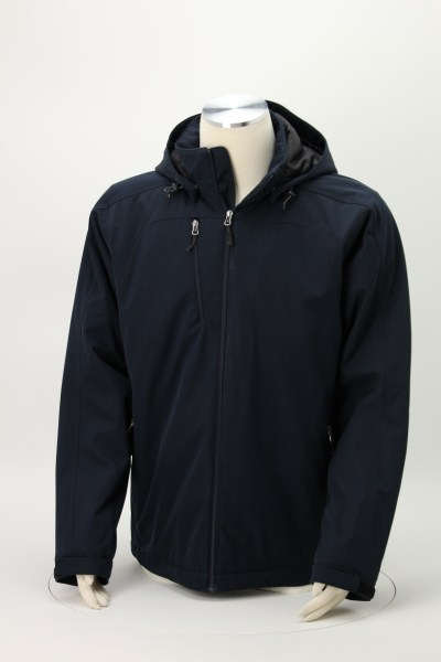 Bryce Insulated Soft Shell Jacket - Men's 360 View