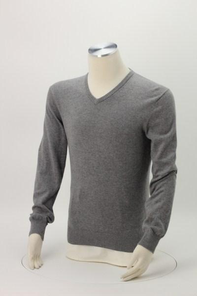 Fine Gauge V-Neck Sweater - Men's 360 View