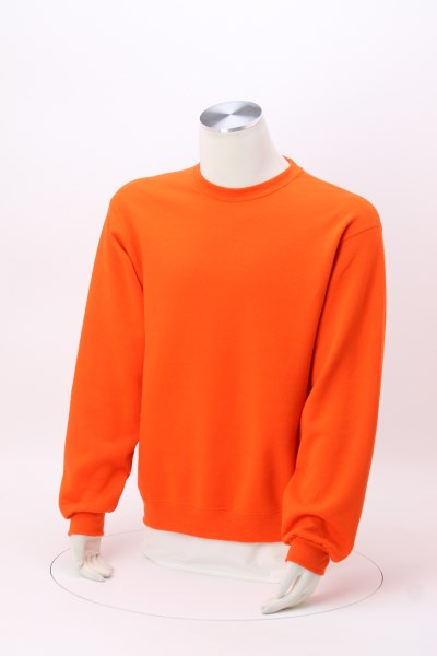 Jerzees NuBlend Crewneck Sweatshirt - Embroidered 360 View