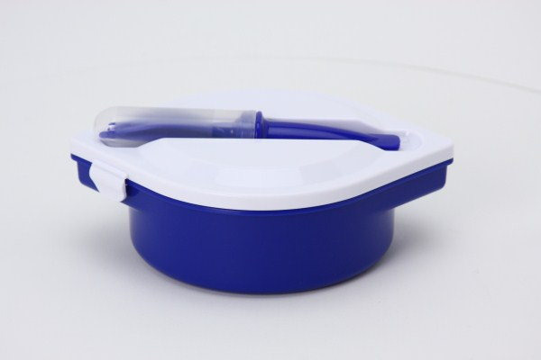 Food Container with Cutlery Set 360 View