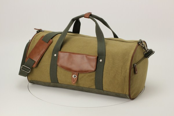Cutter & Buck Legacy Cotton Roll Duffel 360 View