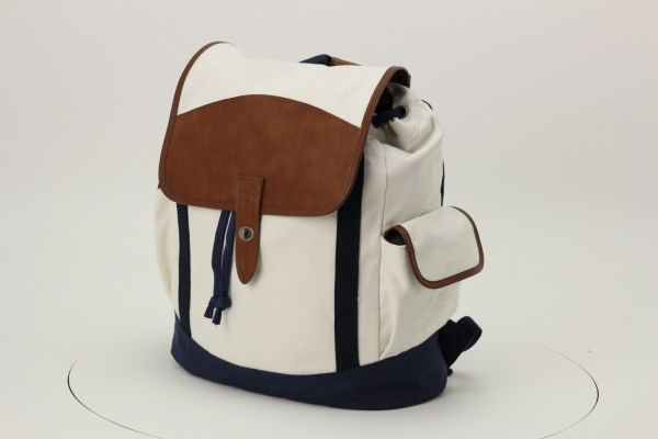 Cutter & Buck Legacy Cotton Rucksack Backpack 360 View