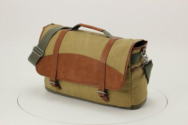 Cutter & Buck Legacy Cotton Laptop Messenger Bag 360 View