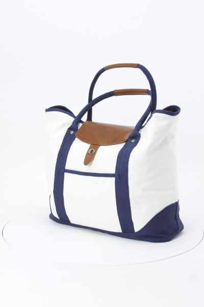 Cutter & Buck Legacy Cotton Boat Tote 360 View