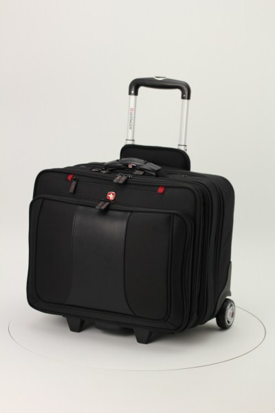 Wenger Transit Deluxe Wheeled Laptop Case 360 View