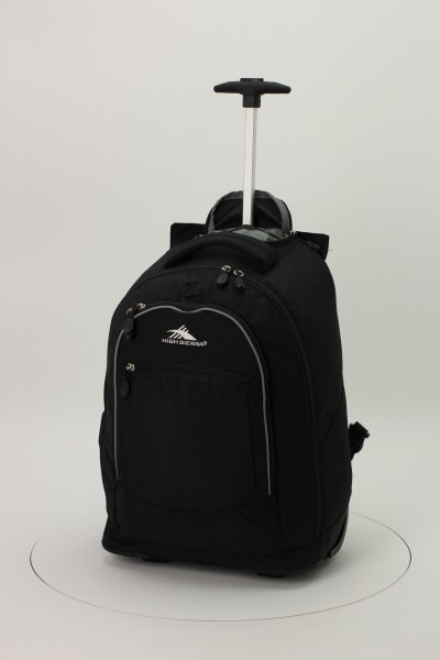 High Sierra Chaser Wheeled Laptop-Backpack 360 View