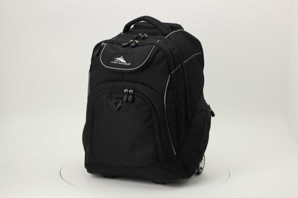 High Sierra Powerglide Wheeled Laptop Backpack 360 View