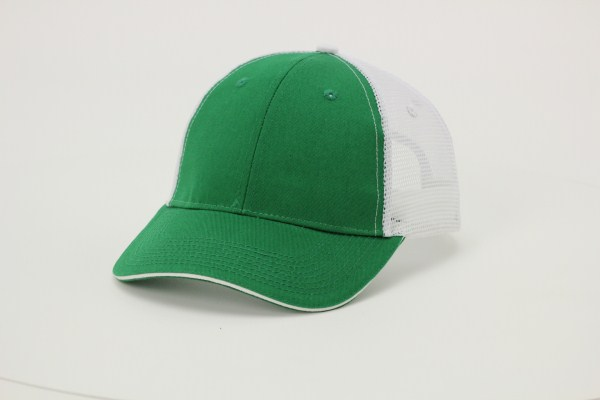 Sandwich Bill Trucker Cap 360 View