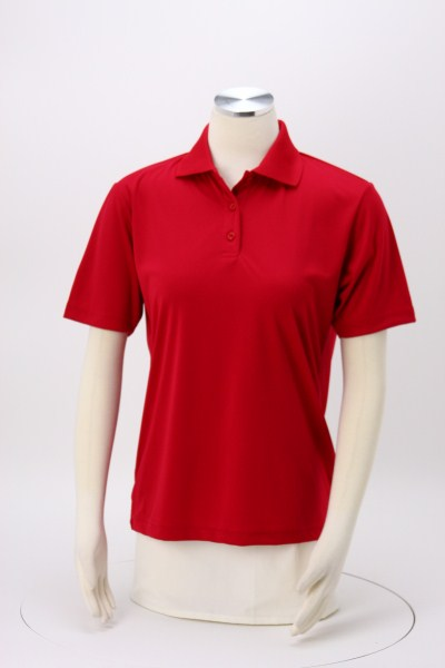 BLU-X-DRI Stain Release Performance Polo - Ladies' - Embroidered 360 View