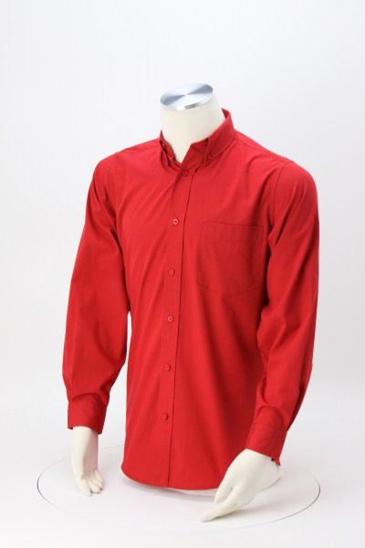 Easy Care Broadcloth Dress Shirt - Men's 360 View