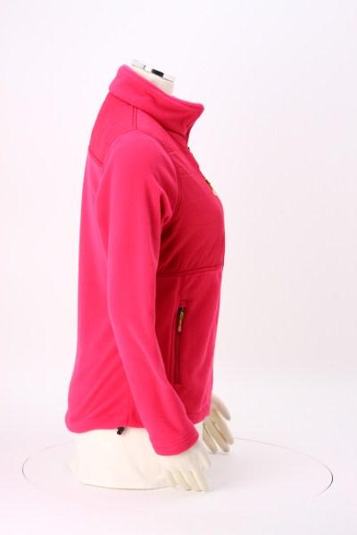 Quilted Overlay Fleece Jacket - Ladies' 360 View