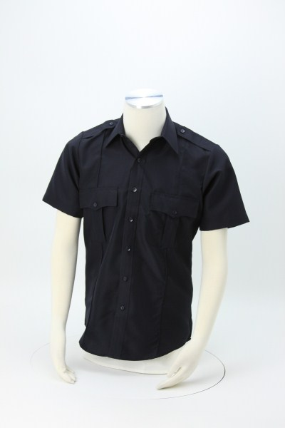 Polyester Short Sleeve Security Shirt 360 View