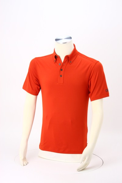 OGIO Performance Button Collar Polo - Men's 360 View