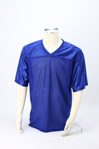 Poly Mesh Jersey V-Neck T-Shirt - Men's 360 View