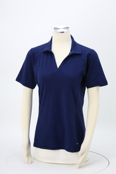 Jepson Performance Blend Polo - Ladies' - Embroidered 360 View
