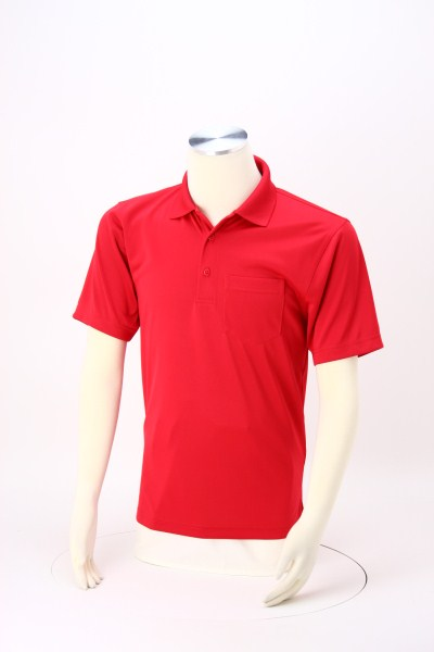 Snag Proof Pocket Polo 360 View
