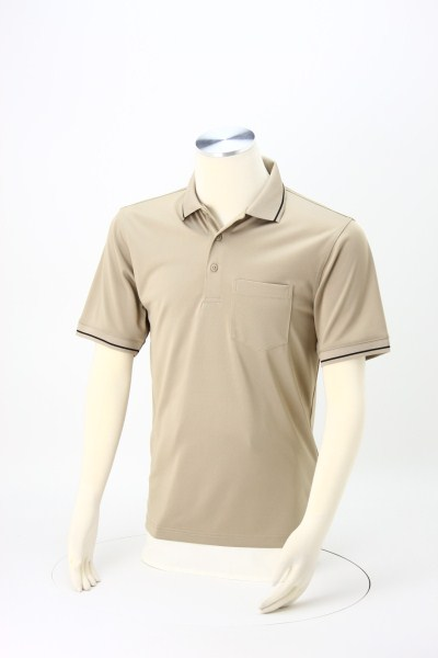Snag Proof Tipped Pocket Polo 360 View