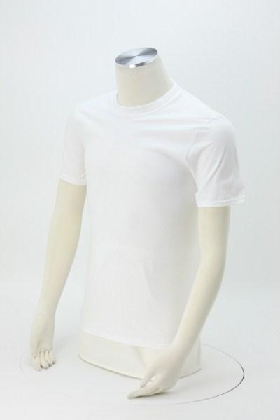 Anvil Ringspun 5.4 oz. T-Shirt - Men's - White - Screen 360 View