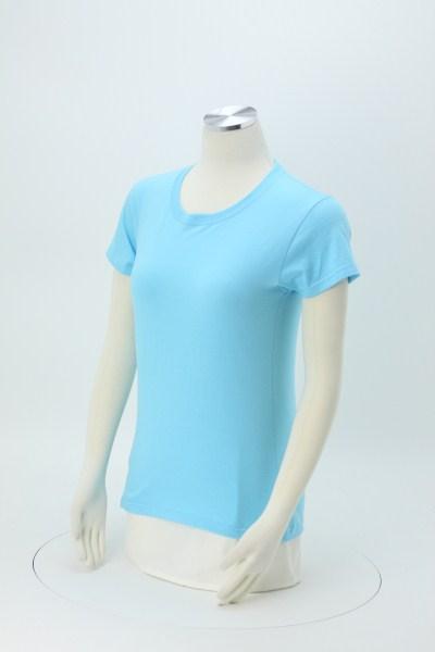 Anvil Ringspun 5.4 oz. T-Shirt - Ladies' - Colors - Screen 360 View