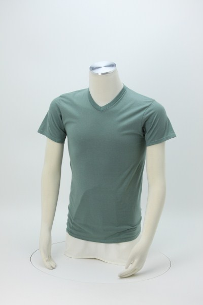 Hanes Nano-T V-Neck T-Shirt - Men's - Colors 360 View