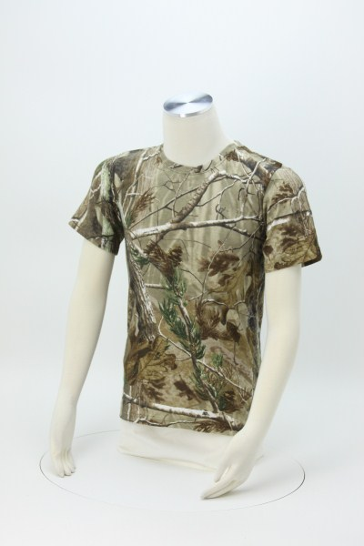 Code V Realtree Camouflage T-Shirt - Men's 360 View