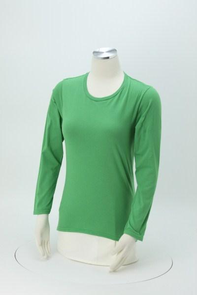 Anvil Ringspun 4.5 oz. LS T-Shirt - Ladies' - Colors 360 View