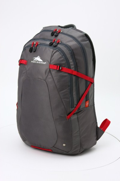 High Sierra Fallout Laptop Backpack 360 View