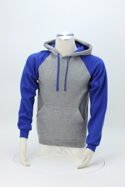 c5e517a4 4imprint.com: Jerzees NuBlend Colorblock Hoodie - Screen 123281-S