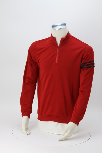 adidas ClimaLite 3-Stripes Pullover - Men's - Embroidered 360 View