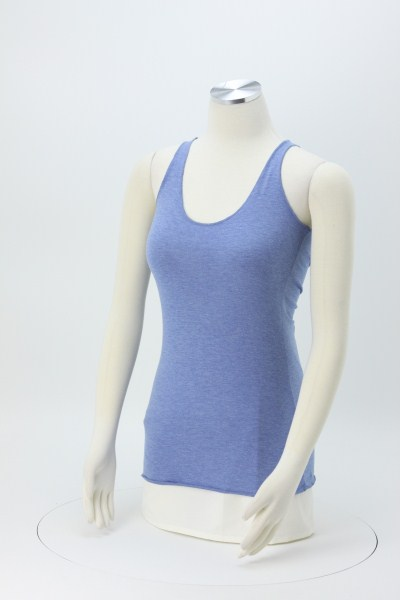 Bella+Canvas Tri-Blend Racerback Tank Top 360 View