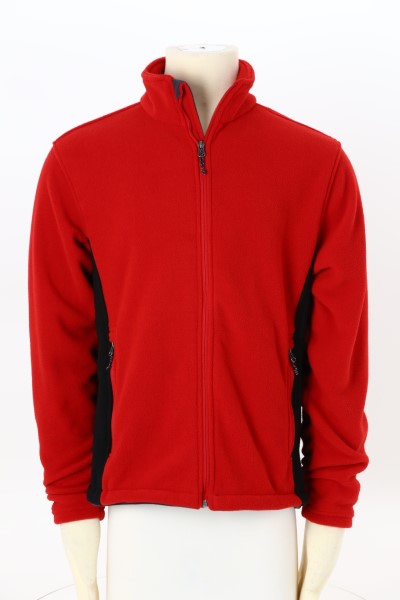 Crossland Colorblock Fleece Jacket - Men's 360 View