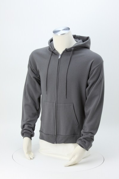 Paramount Full-Zip Hoodie - Embroidered 360 View