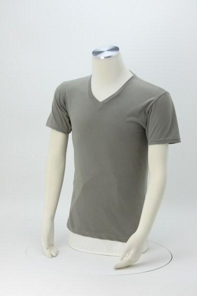 Next Level Premium Sueded V-Neck T-Shirt 360 View