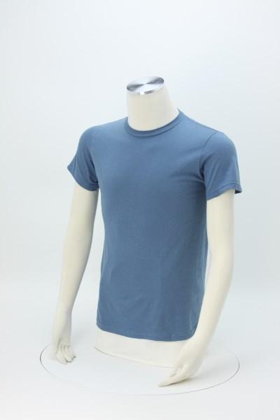 Adult 4.3 oz. Ringspun Cotton T-Shirt - Screen 360 View