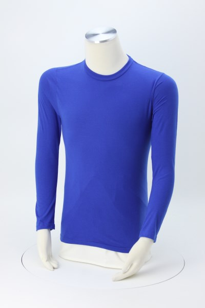 Adult Performance Blend Long Sleeve T-Shirt 360 View
