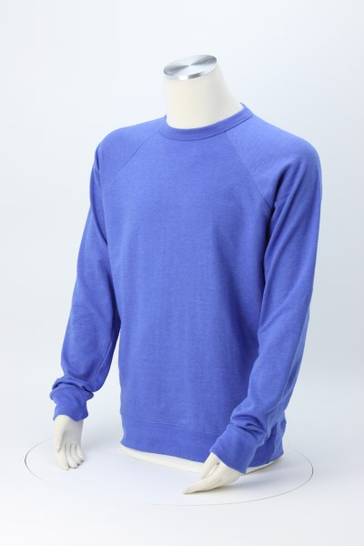 French Terry Fashion Crew Sweatshirt - Screen 360 View