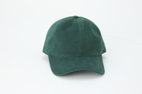 Brushed Cotton Unstructured Cap 360 View
